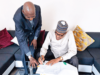 Buhari signs Deep Offshore Act for more oil revenue