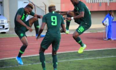 Cameroon 2021: Eagles wallop Lesotho's Crocodiles 4-2 to stay top of group