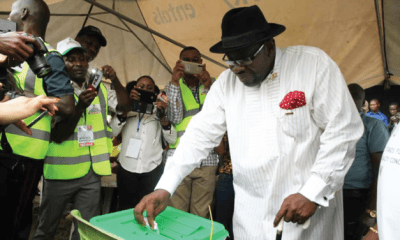 Dickson calls for cancellation of election in Nembe, Southern Ijaw, others