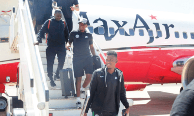 Cameroon 2021: Eagles land in Maseru, ready to fly over Crocodiles