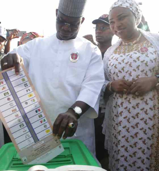 JUST IN: INEC declares Gov Bello winner of Kogi poll