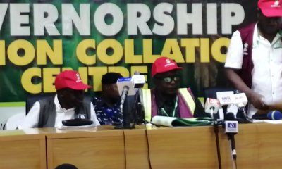 Kogi decides: Drama as INEC official presents N50,000 'bribe' exhibit