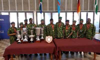 Nigerian Armed Forces shine at international sports