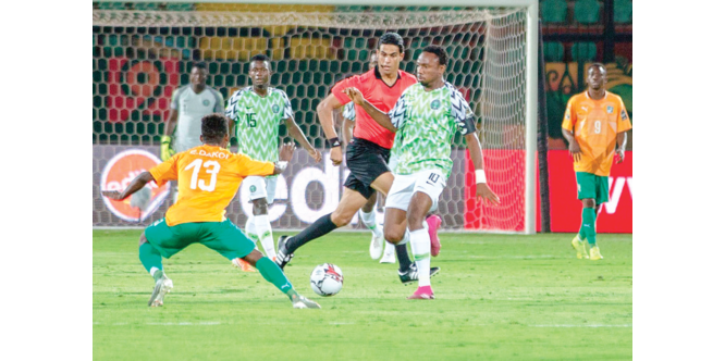 AFCON qualifiers: Eagles' camp bubbles as 14 players train in Uyo - New Telegraph Newspaper