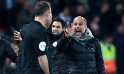 EPL: Guardiola wants ref to explain VAR decision after Man City defeat