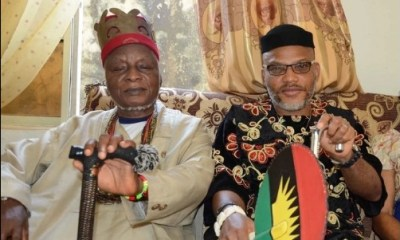 Nnamdi Kanu's father dies at 86