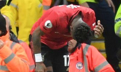 Manchester derby: City threaten fan bans after 'monkey gesture', missiles thrown