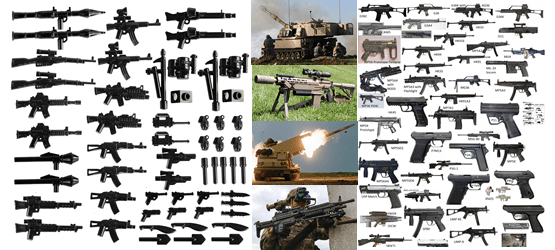 ammunition rounds arms guns military weapons