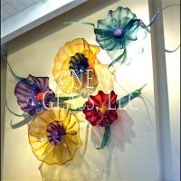 Decorative Glass Wall Art Plates | Colorful Blown Glass ...