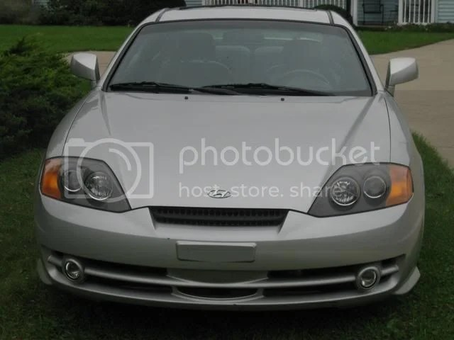 2004 Hyundai Tiburon White Power Windows Power Steering