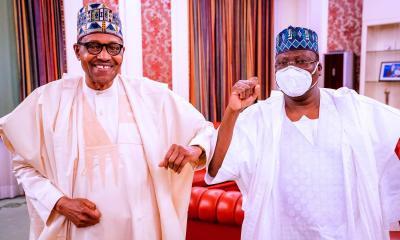 Buhari, Lawan Meet On Security, NDDC