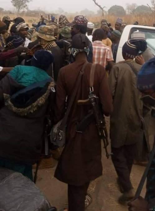 PHOTOS: Sheik Gumi meets kidnappers of Kagara students, teachers