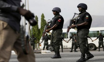 Police Officers In Kastina State Protest Over Unpaid Seven Month Salary