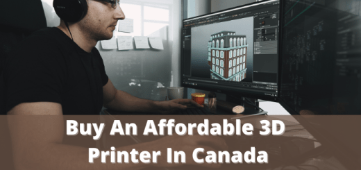 Buy An Affordable 3D Printer In Canada