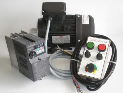 1/3hp  Inverter & Motor package with remote