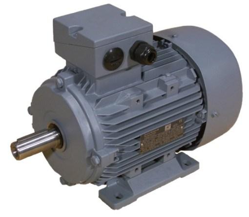 0.37kW  240V Single Phase, 4-pole, Cap-Cap