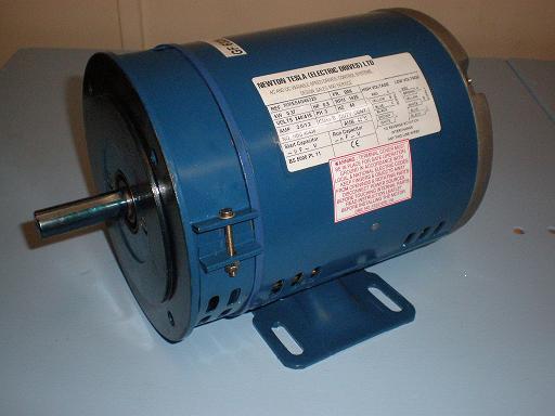 0.75kW, 1.0HP, 220V/415V Three Phase, 2-pole, Drip Proof, Foot & Flange