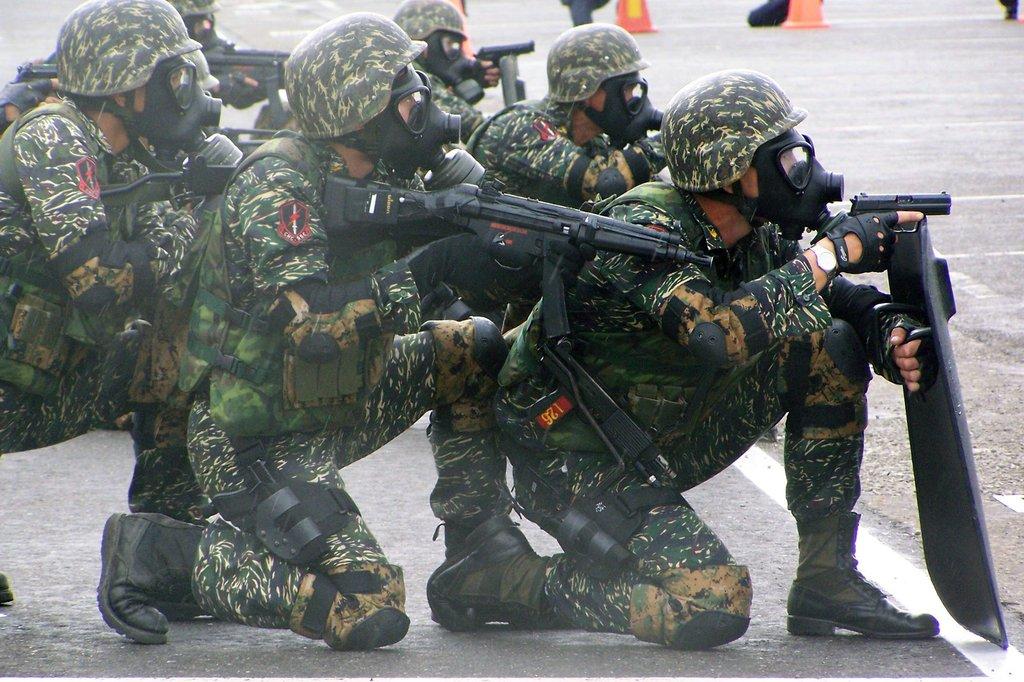 臺灣精銳特種部隊:概述,特點,快速增援,_中文百科全書