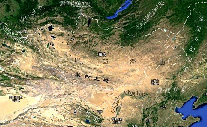蒙古高原(亞洲內陸高原):區域位置.位置境域.區域範圍.形成過程.氣候特徵.氣候._中文百科全書