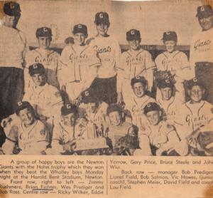 Newton Baseball Giants