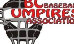 BC Baseball Umpires Assocation Logo