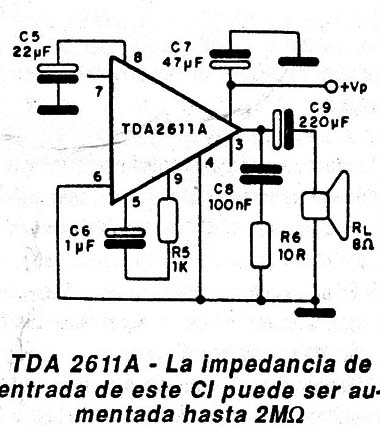 TDA2611A DOWNLOAD