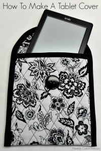 How to Make A Tablet Cover - Newton Custom Interiors