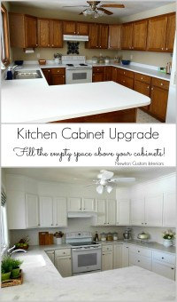 Kitchen Reveal - Kitchen Cabinet Upgrade - Newton Custom ...