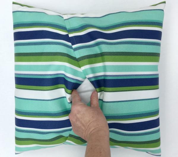 envelope pillow cover tutorial newton