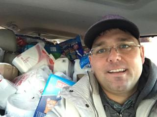 The Cosack Team Annual Food Drive Donation