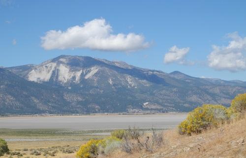 Washoe Lake, Washoe Valley, Nevada, NV.