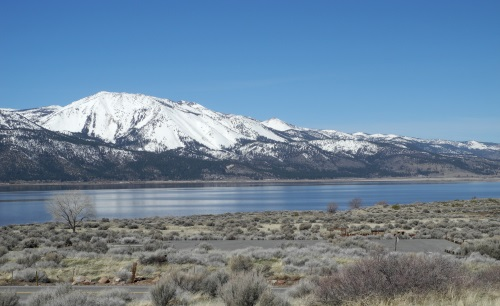 Washoe Lake, Washoe Valley, Nevada, NV.