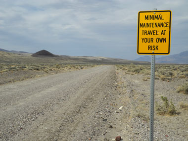 Soldier Meadows Road, Black Rock Desert, Nevada, NV.