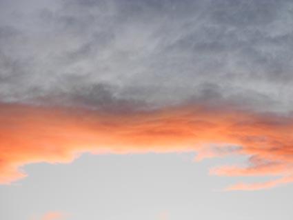 Sunset over Reno, Nevada, NV
