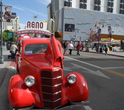 Spring Fever Revival in downtown Reno, Nevada.