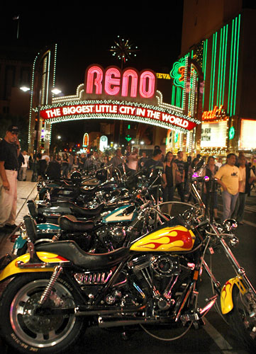 Street Vibrations in Reno, Nevada, NV