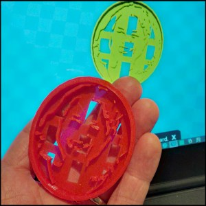 3D print a personalized cookie cutter from an stl file