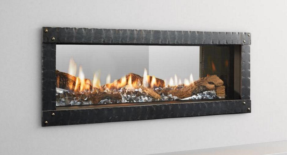 Heat n Glo Mezzo See-Thru Linear Gas Fireplace - Newtown Fireplace Shop