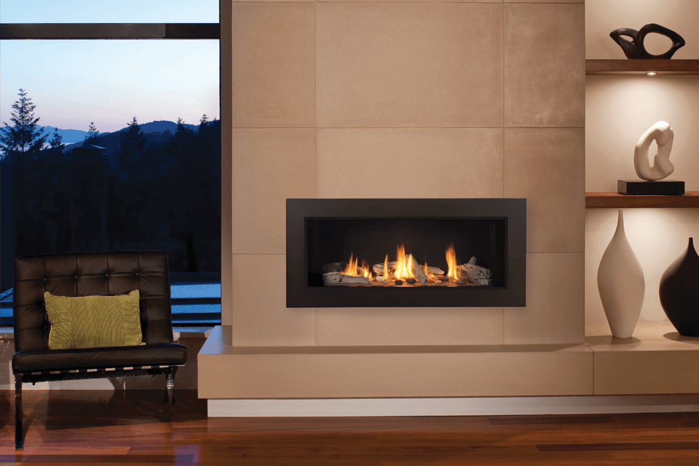 Linear Gas Fireplace >> Valor L1 Linear Gas Fireplace Newtown Fireplace Shop