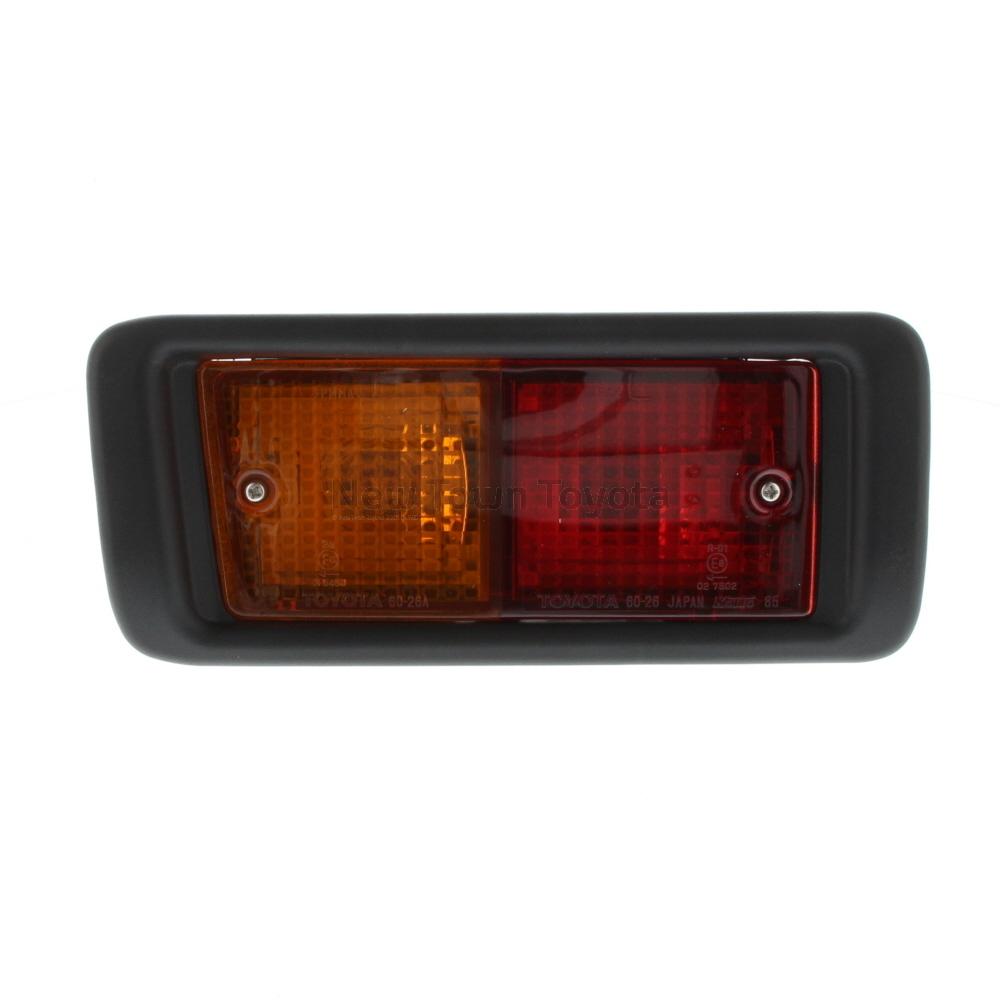 medium resolution of toyota lh rear tail light lamp wiring land cruiser hzj78 vdj76 vdj78 01 2007 on