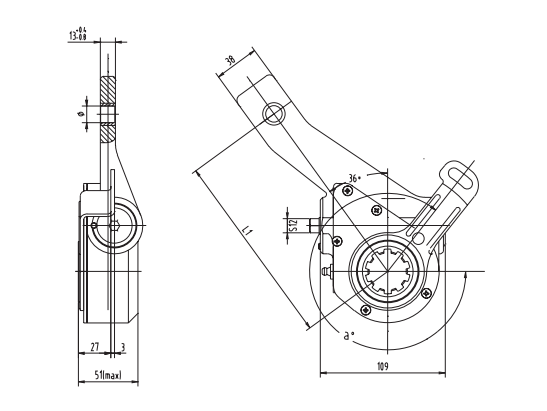 Automatic Slack Adjuster CAST 3226 And PDF