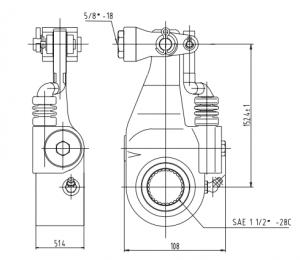 Bendix K041876 Versajust Automatic Slack Adjuster