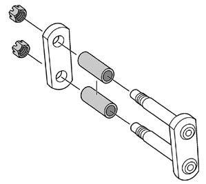 Shackle Kit for Ford C600-C900 Trucks