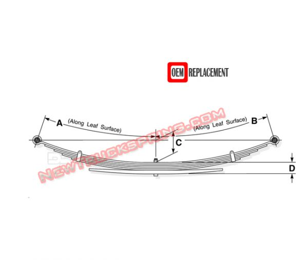 Replacement 1993-1998 Toyota T100 Regular Cab 4wd