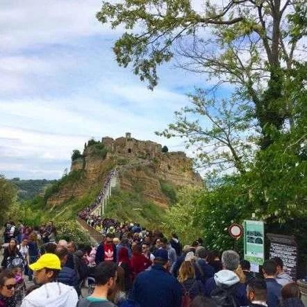 Civita di Bagnoregio ancora turismo da record