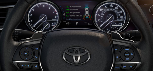 all new camry 2018 keunggulan grand avanza toyota review features and specs near vincennes gains added flair tech