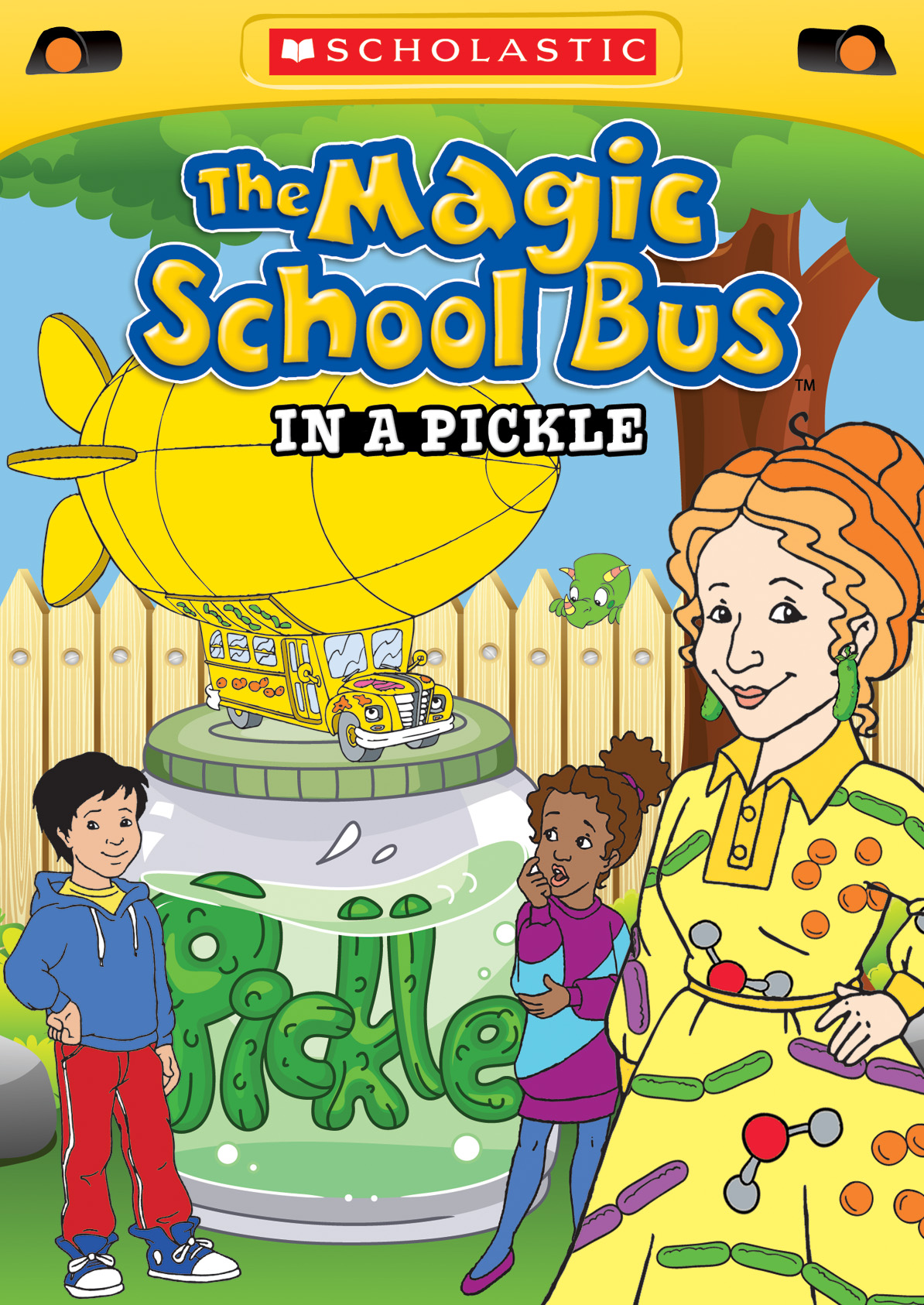 Review And Giveaway The Magic School Bus In A Pickle