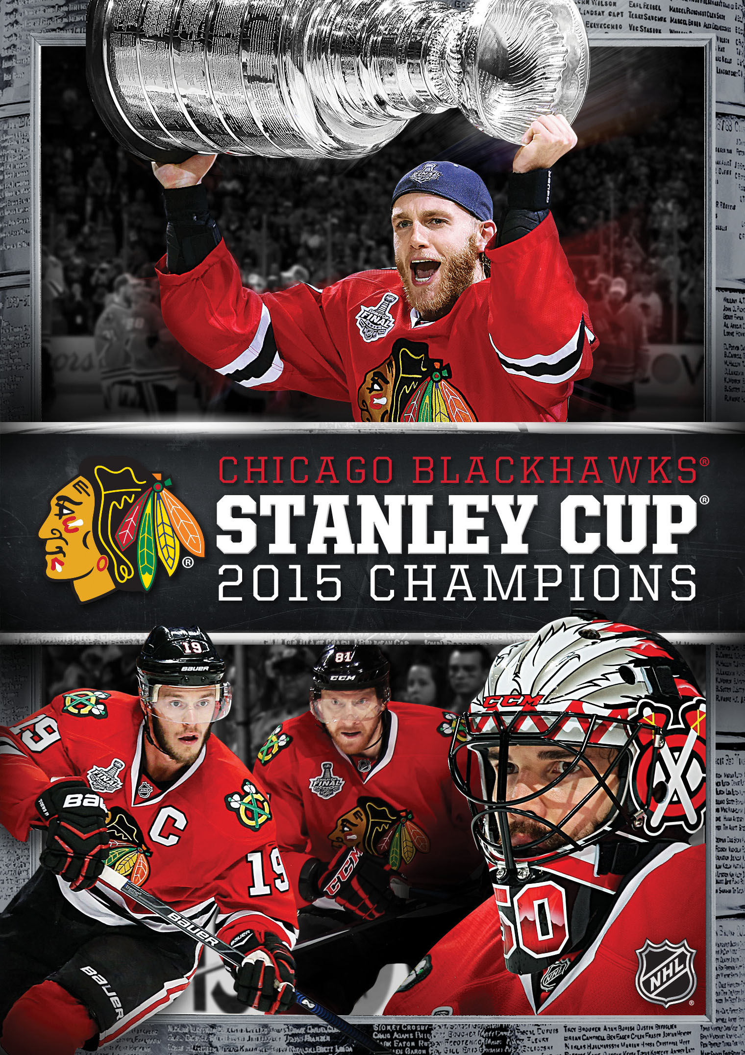 Chicago Blackhawks 2015 Stanley Cup Champions  NHL
