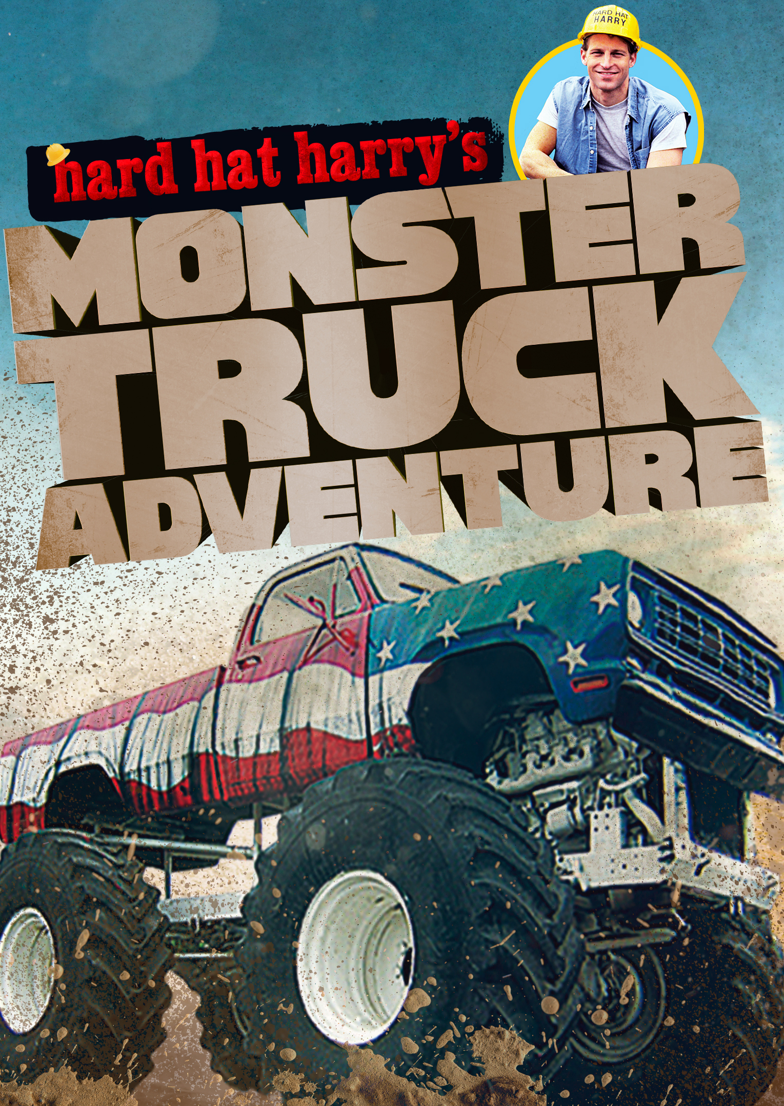 Hard Hat Harry Monster Truck Adventures  JSD  Cinedigm