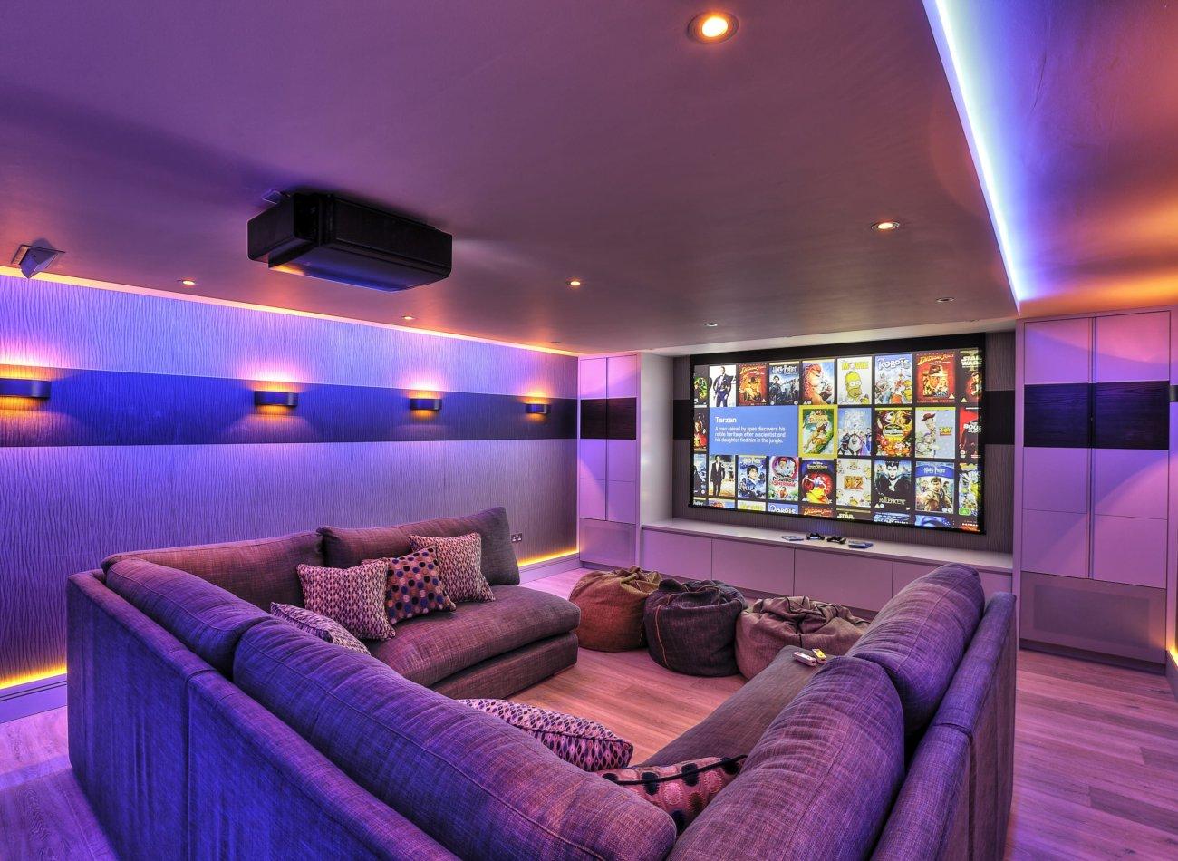Basement Cinema Conversion Kent